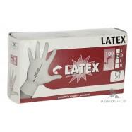 Ühekordsed kindad Latex M 100tk