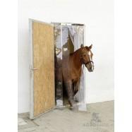 Augustatud PVC-ribakardinate komplekt 130x225cm