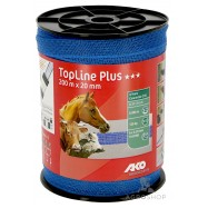 Elektrikarjuse taralint AKO TopLine Plus sinine 20mm/200m