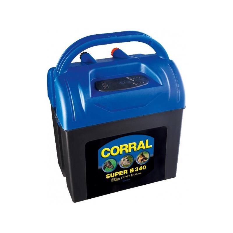 Akutoitega elektrikarjus Corral B340 (9V/12V)