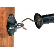 Väravaisolaator Vario puitpostile ja metallpostile