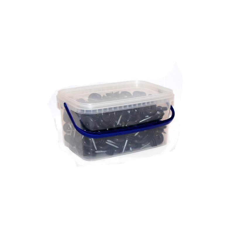 Rõngasisolaatorid plastämbris 150 tk + isolaatorite paigaldusabinõu