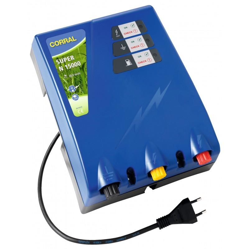 Võrgutoitega elektrikarjus Corral Super N15000 (230V)