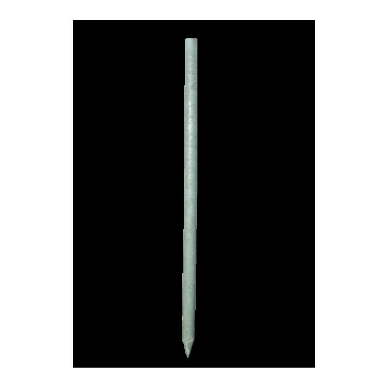 Taaskasutatud plastikust post 45 x 1500 mm