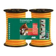Elektrikarjuse taralint EconomyLine 10 mm/200 m DUO pakend