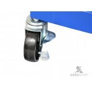 Tööriistakäru GEKO ratastel, 4 sahtlit