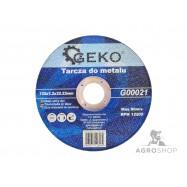 Lõikeketas metallile GEKO 1,2 x 125 mm