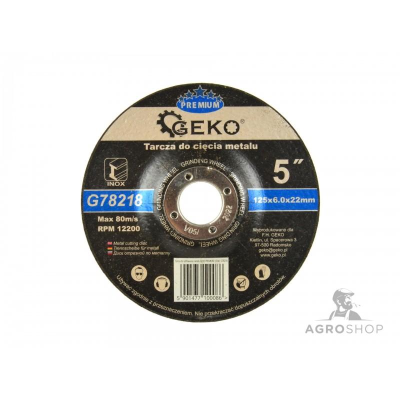 Lihvketas metallile GEKO 6,0x125mm