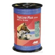 Elektrikarjuse taralint AKO TopLine Plus sinine 10mm/200m