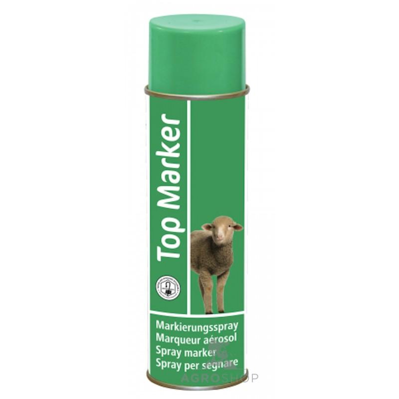 Lammaste roheline märgistusvärv TopMarker 500ml
