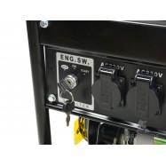Elektrigeneraator Keltin el.käivitus 12/230/400V 3500W