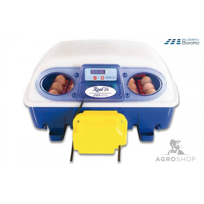 Inkubaator Real 24 digitaalne ja täisautomaatne