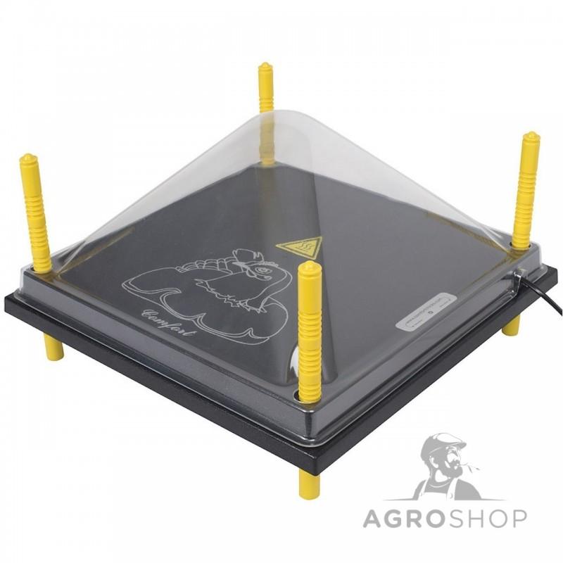 Kaitsekuppel soojendusplaadile 40x40cm