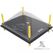 Kaitsekuppel soojendusplaadile 40x50cm
